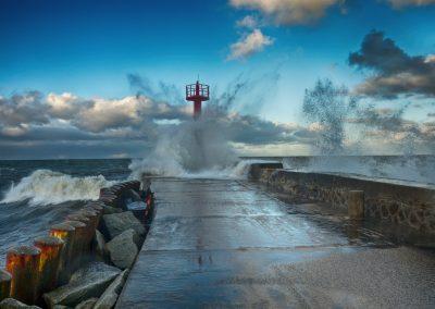 sztorm Darłówko